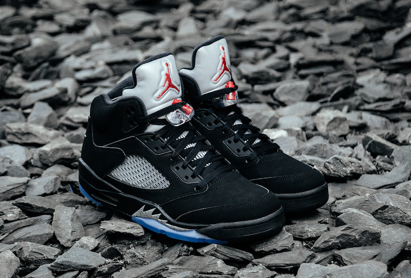 2016 air jordan 5 og black metallic 5
